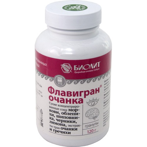 Флавигран-очанка  г. Екатеринбург